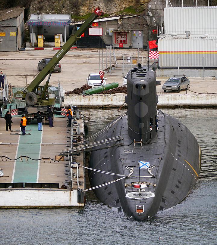подводные лодки для черноморского флота новороссийск