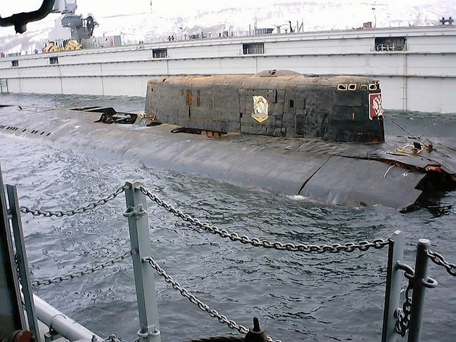 фото под лодки курска