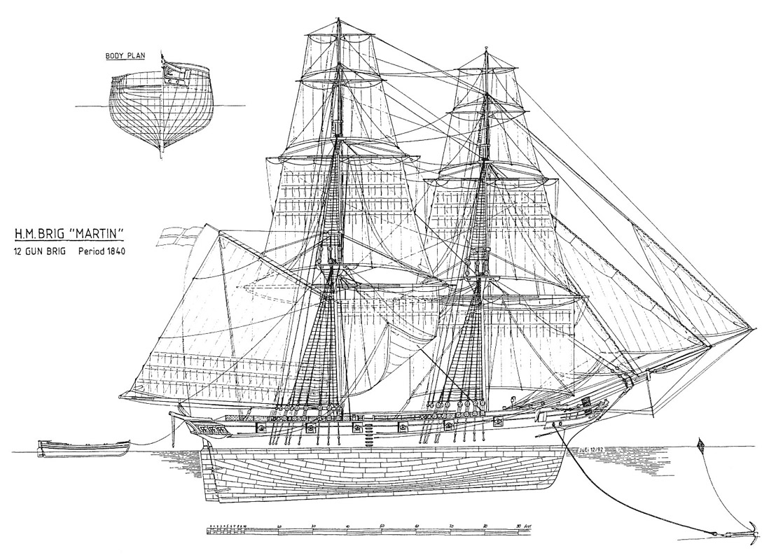 Чертежи парусных кораблей 5 191221 Форумы balancerru