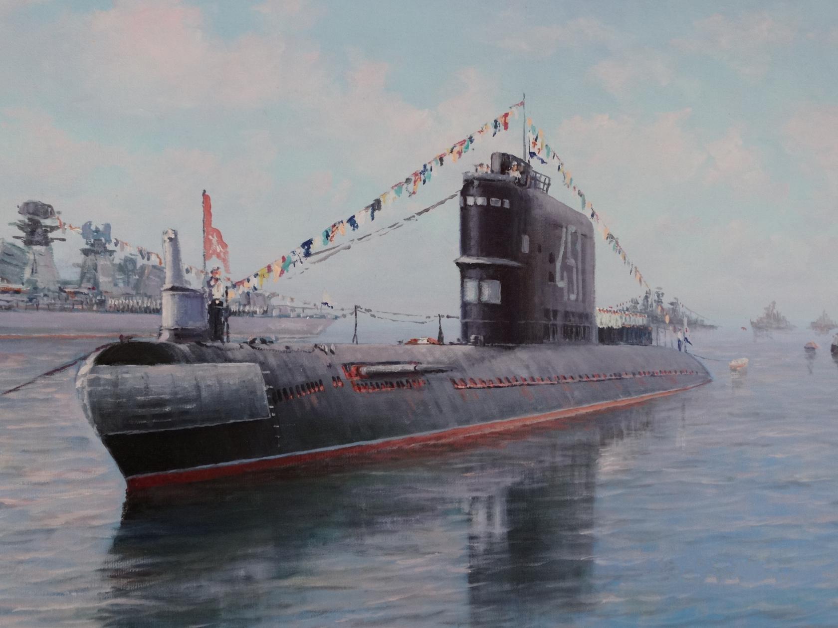 Подводная лодка проекта 629А