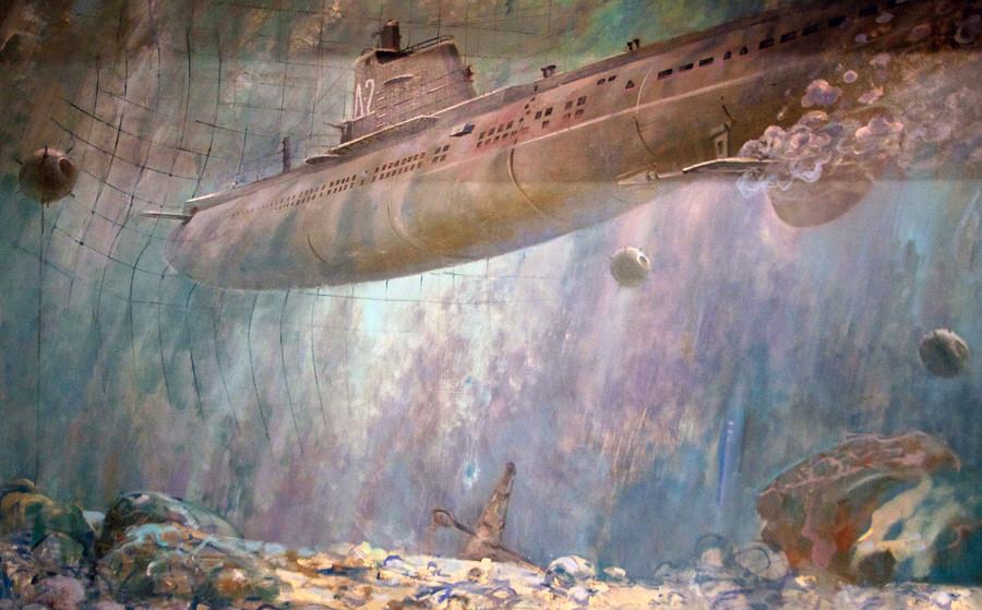 подводная лодка щ 422