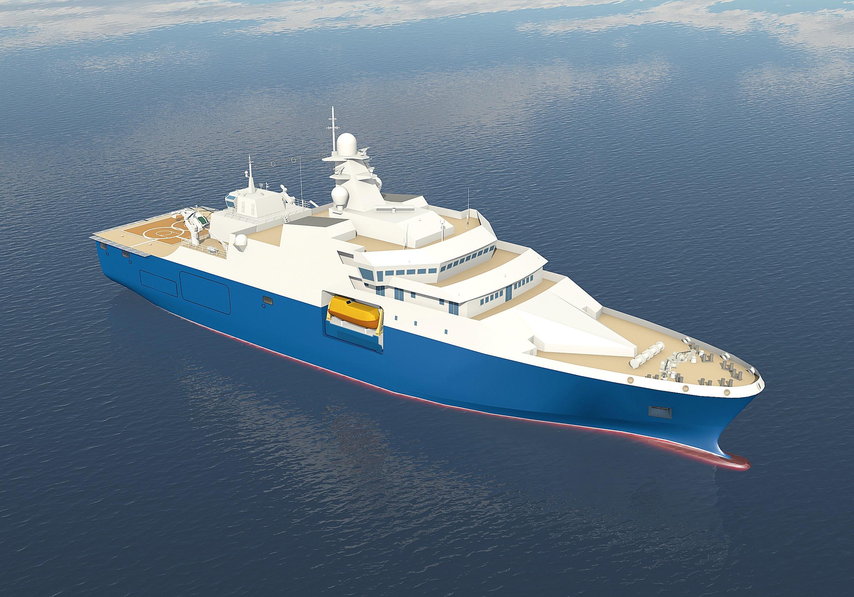 Новый и многофункциональный: в РФ построят корабль проекта 23700 «Воевода»
