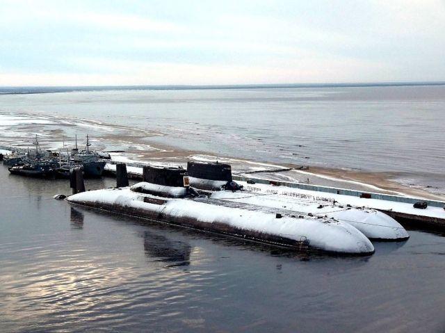 подводная лодка акула проект 941 северсталь